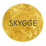 Golden dots_SKYGGE_red